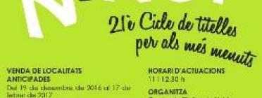 Programació del 21è Cicle Joc al Ninot / Foto: Centre de titelles de Lleida