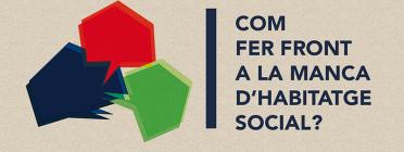 Com fer front a la manca d'habitatge social? Font: observatoridesc.org
