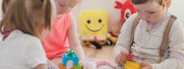 L'adquisició d'habilitats socials té lloc fonamentalment en els primers anys de vida. Font: Dincat