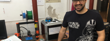 Tot i continuar treballant amb ordinadors i dispositius mòbils, a Colectic també es treballa amb robòtica educativa i fabricació digital. Font: Colectic