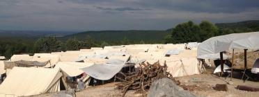 Camp de refugiats ofical a Petra (Font: DSR)