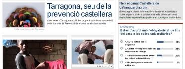 Imatge del portal Castellers de LaVanguardia.com
