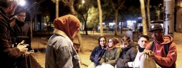 Joves participant en el projecte Prisma