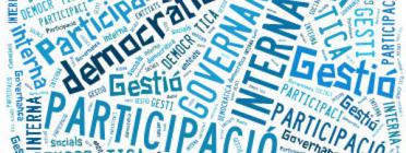 'Programa pilot d'acompanyament a la millora de la participació interna i gestió democràtica'. Font: Suport Associatiu