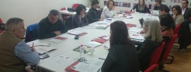 Reunió de la plataforma per parlar sobre els nous reptes del Observatorio del Voluntariado, el gener de 2016