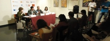 Roda de premsa Feina amb Cor. Font: caritasbcn.org