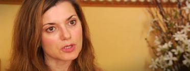 Rosa Bada, directora de la Fundació Bayt al-Thaqafa. Font: Youtube