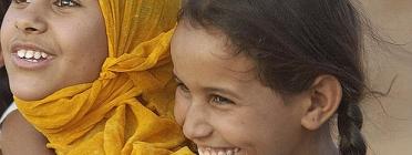 Nenes sahrauís. Font: United Nations Photo, Flickr