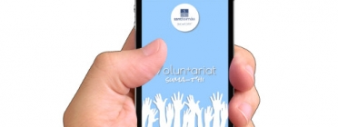 Una aplicació per buscar voluntariat