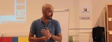 Santi Bonillo. Tècnic Programa Esfera Jove. Font: Fundació Marianao