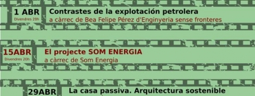 "Cartell del cicle de cinema ambiental ""Selva Cine Viu"" (imatge: Selva cIne viu)"