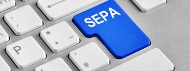 Logo de la zona única de pagament SEPA. Font: sepaesp.es