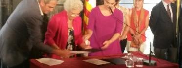 Maria Assumpciò Vilà, síndica. Font: sindicadegreugesbcn.cat