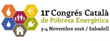 Logotip del I Congrés Català de Pobres Energètica. Font: Congrés Pobresa Energètica