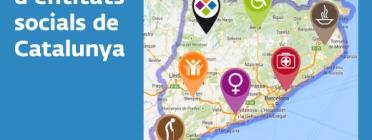 Mapa d'entitats socials de Catalunya
