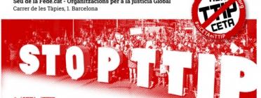 Acte Poder Corporatiu i Sobiranies. Font: Campanya Catalunya No al TTIP