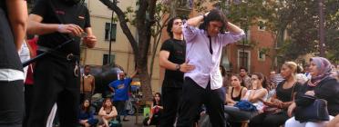 Acte de presentació de la guia organitzat per la campanya 'Pareu de parar-me'