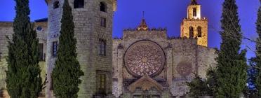 Monestir de Sant Cugat - Font: SQ1 Flickr