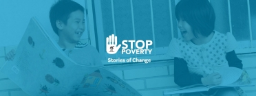 Imatge de la campanya Stop Poverty.