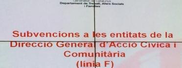 Publicades les bases i la convocatòria de subvencions de la DGACC - Foto: Joan Rosinach