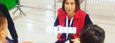 Mònica Bellido, presidenta i educadora infantil de l'Associació Supera't.  Font: Associació Supera't