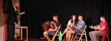 Teatre fòrum sobre el tema de l'assetjament escolar