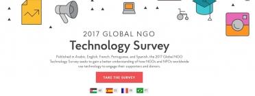 Imatge gràfica de l'Enquesta Global de Tecnologia d'ONG.