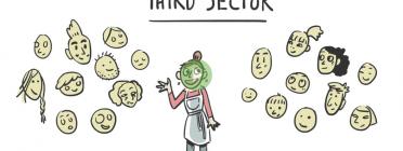 Fotograma del vídeo de Third Sector Impact