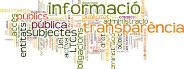 Núvol de tags de transparència