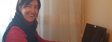 Beatriz Silva és la presidenta de la Federació Catalana de Malalts de Ronyó i l'Associació de Malalts de Ronyó. Font: Beatriz Silva.