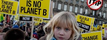 Manifestació contra el TTIP. Font: Campanya No al TTIP