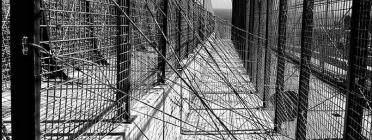 Foto de la valla de Ceuta. Font: CEAR