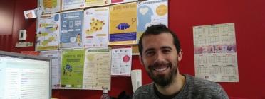 Víctor Guimerà, tècnic del CRAJ. Font: CRAJ.