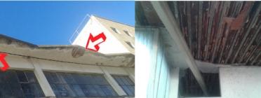 Part del recaptat es destinarà a reparar el voladís de l'edifici. Font: Can Fugarolas