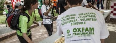 Voluntaris del Trailwalker. Font: Plana web del Trailwalker
