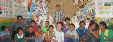 Imatge Voluntariat a Guatemala. Font: web Fundesplai