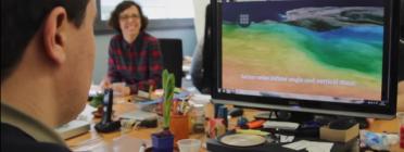 Fotograma del vídeo de Vortex per al Premi Barcelona a l'Empresa Innovadora en Conciliació i Temps 2014