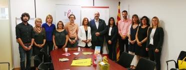 Signatura de l'acord de col·laboració