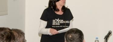Núria Gonzàlez, una de les fundadores de la Xarxa Antirepressió de Familiars de Detingudes
