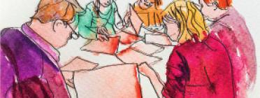 Una imatge del document de 14 mesures per impulsar l'economia social i solidària a nivell local