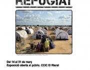 """Cartell de l'exposició """"Ser refugiat"""""""