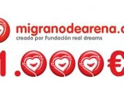 migranodearena.org recapta més de 1.000€ al dia