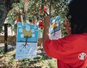 """Activitat de la campanya """"El meu arbre les teves arrels"""" al Col·legi Doctor Ferran de Cobera d'Ebre"""