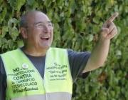 Celestino Sánchez, de 66 anys i membre de Iaioflautes. Font: Iaioflautes