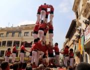 La Colla Vella dels Xiquets de Valls s'han endut la victòria sense apel·latius a la diada de Sant Fèlix de Vilafranca