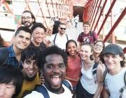 Participants al camp de treball de l'any passat / Foto: AEiG Sant Cugat de Salt