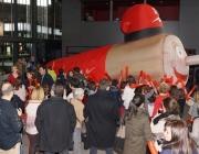 Imatge Tió Solidari de Catalunya Radio. Font: web Catalunya Ràdio