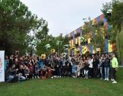 Joves participants a la Setmana pels Drets de la Joventut. Font: Fundesplai