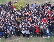 Imatge de joves a la Setmana pels drets de la joventut. Font: Fundesplai