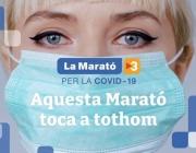La Marató 2020 estarà destinada a la lluita contra la Covid-19. Font: La Marató
